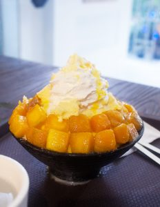Korean Snow Ice Mango