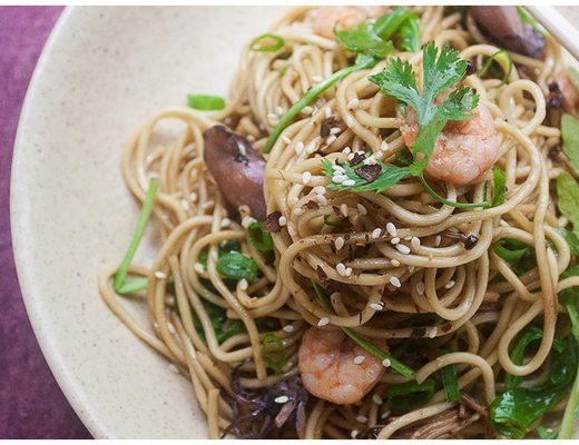 Fried Soba Noodles