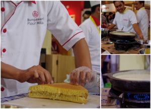 Martabak Cooking Demo with Bungasari at SIAL Interfood 2016