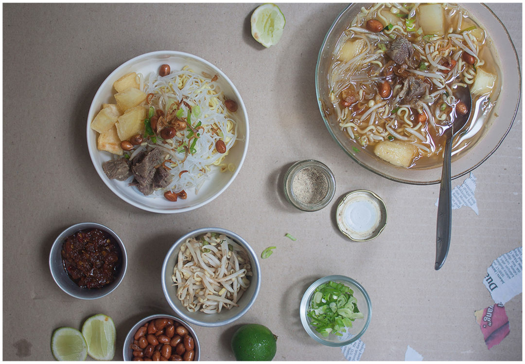 Indonesian cassava soup