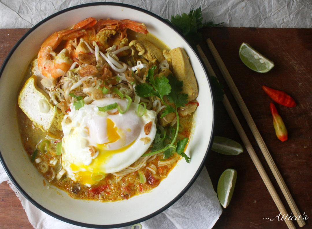 Chicken and Shrimp Laksa