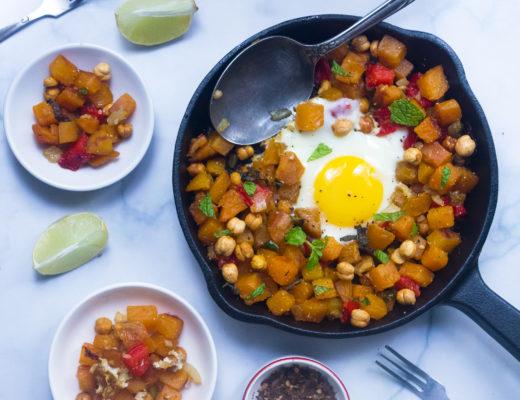 Sweet Potato Hash with Chickpea