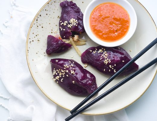 Purple Yam Dumplings