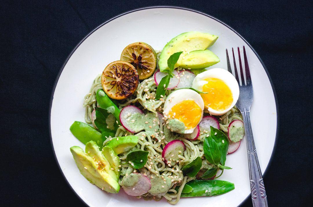 Creamy Noodle Salad