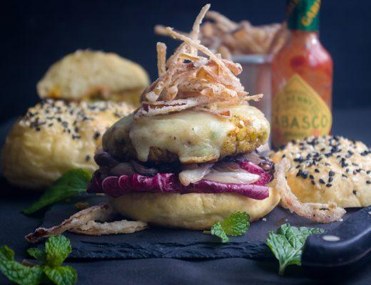 Dukkah Chickpea Burger