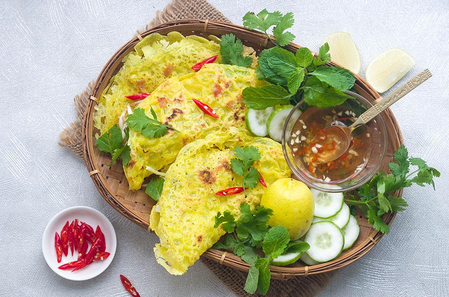 Chicken Banh Xeo