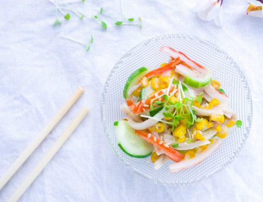 Crab stick Salad