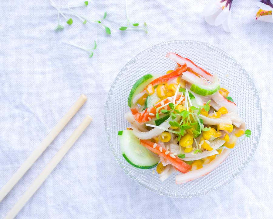Crab stick Salad