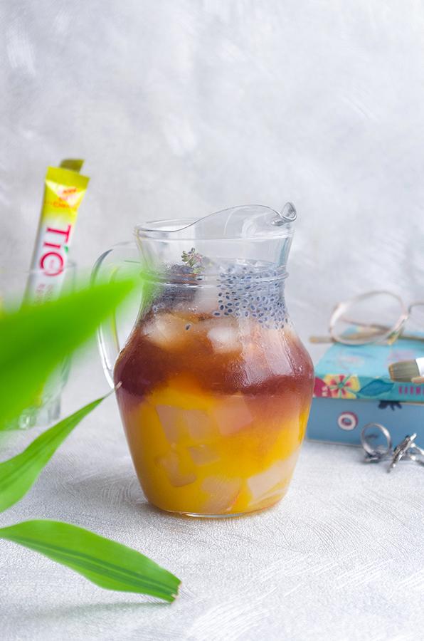 Mango-Peach Iced Tea