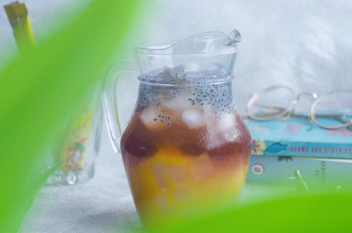 Peach-Mango Iced Tea
