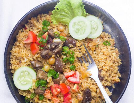 One-Pot Lamb Rice