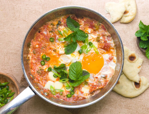 Egg in Spicy Tomato Sauce