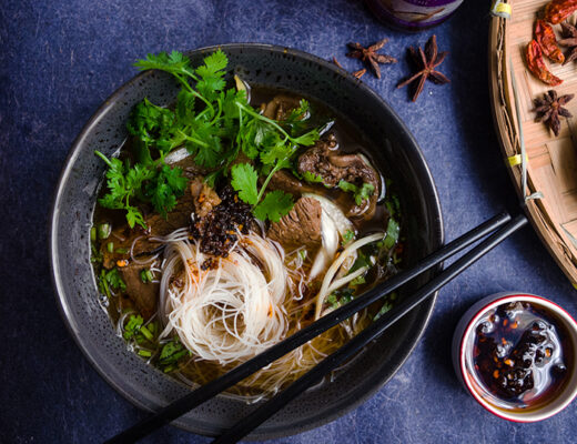 Beef Rice Vermicelli Soup