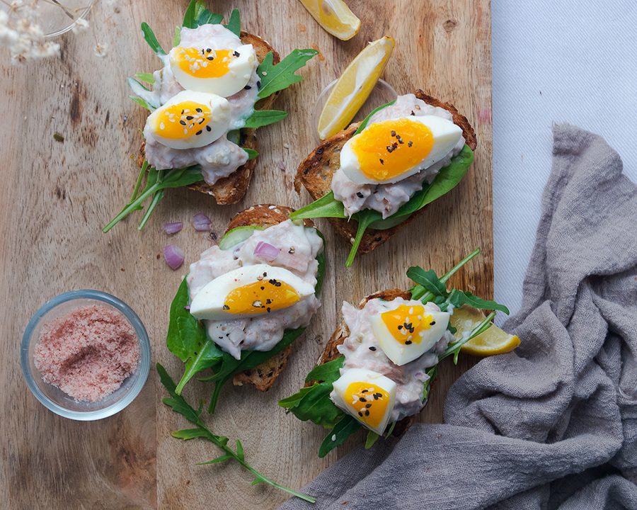 Healthy Tuna Salad Toast
