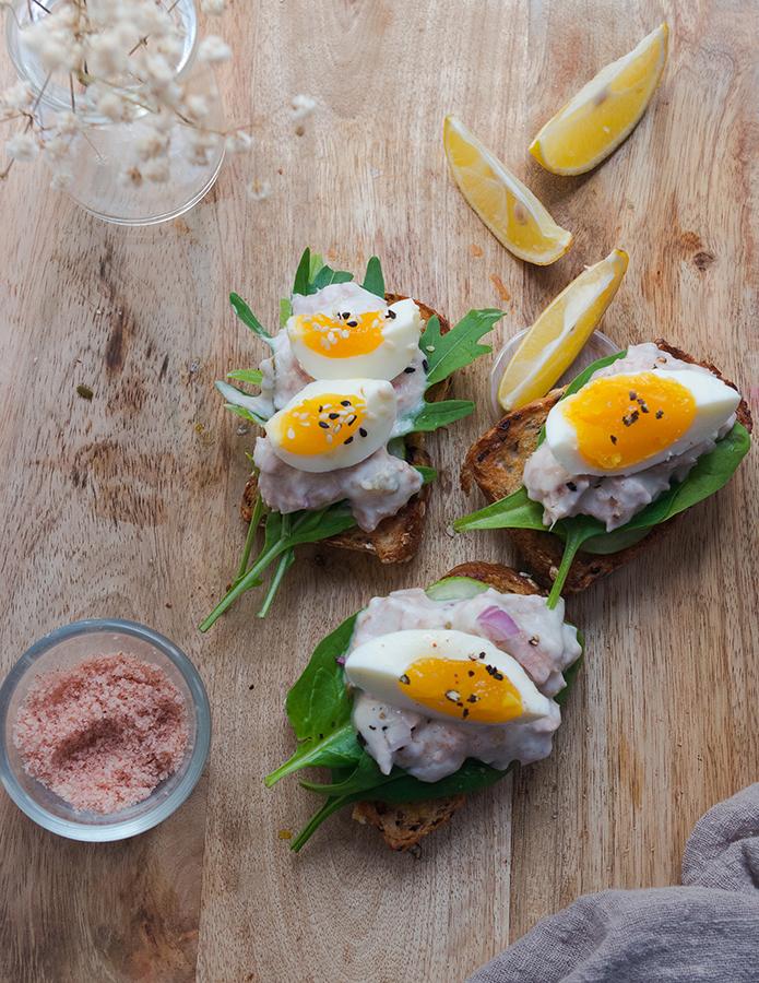 Healthy Tuna Salad Toast