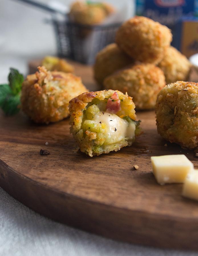Broccoli and Potato Croquette