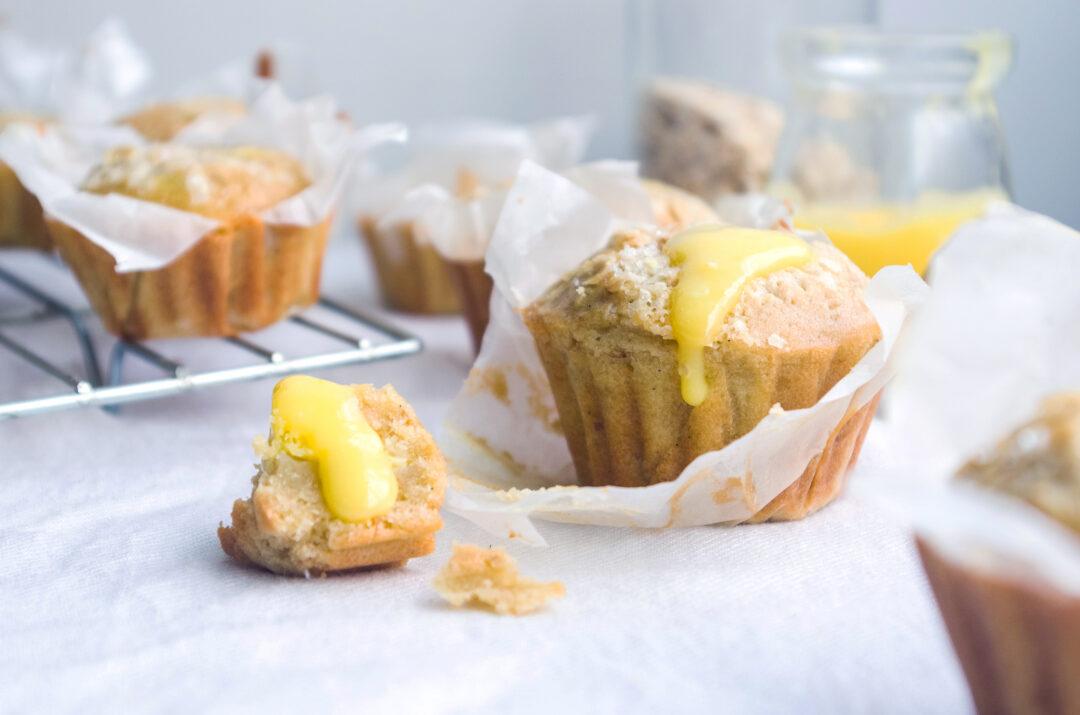 Lemon and Oatmeal Muffins