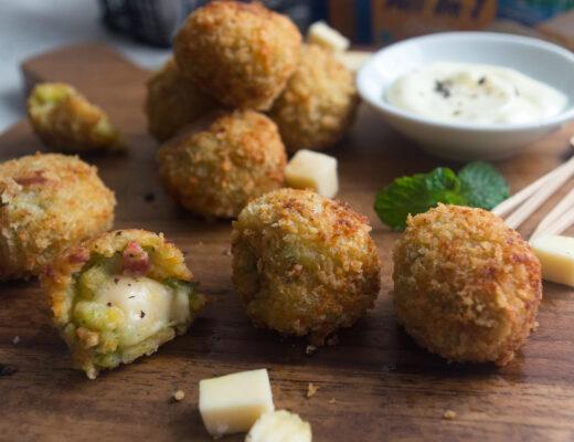Broccoli and Potato Croquettes